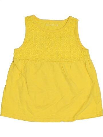 Camiseta sin mangas niña NUTMEG amarillo 5 años verano #1311822_1