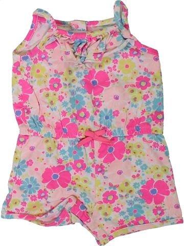 Combinación corta niña MOTHERCARE rosa 6 meses verano #1311840_1