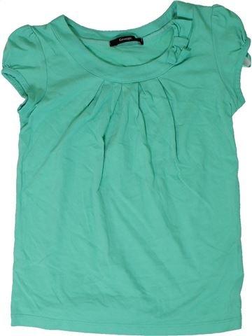 Camiseta de manga corta niña GEORGE azul 10 años verano #1311857_1