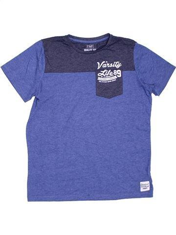 Camiseta de manga corta niño F&F violeta 13 años verano #1311901_1