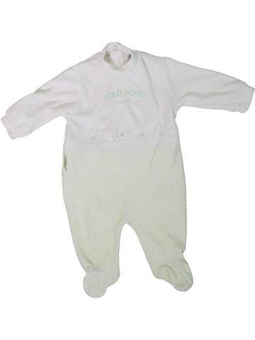 Pijama de 1 pieza niño ELLEPI blanco 3 meses invierno #1311914_1