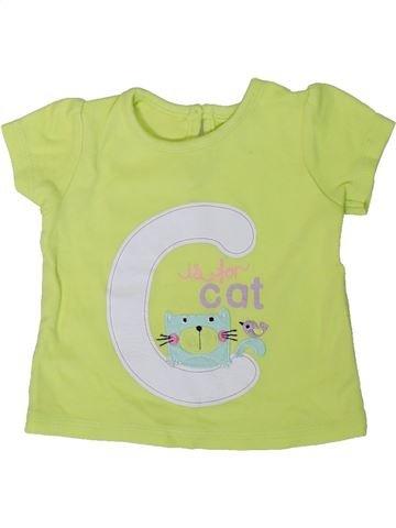 Camiseta de manga corta niña GEORGE verde 9 meses verano #1311964_1