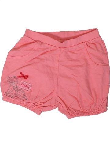 Short-Bermudas niña GEORGE rosa 9 meses verano #1312002_1