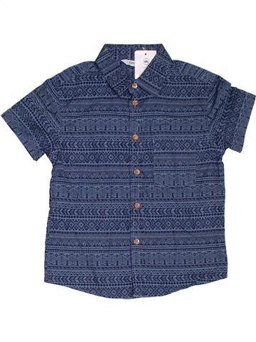 Camisa de manga corta niño GEORGE azul 5 años verano #1312074_1