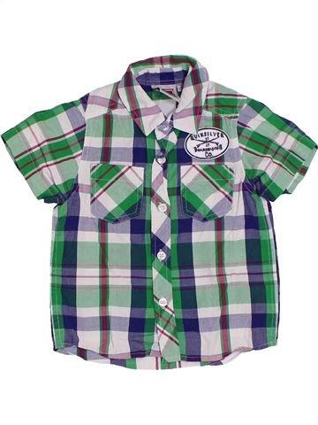 Chemise manches courtes garçon QUIKSILVER gris 2 ans été #1312118_1