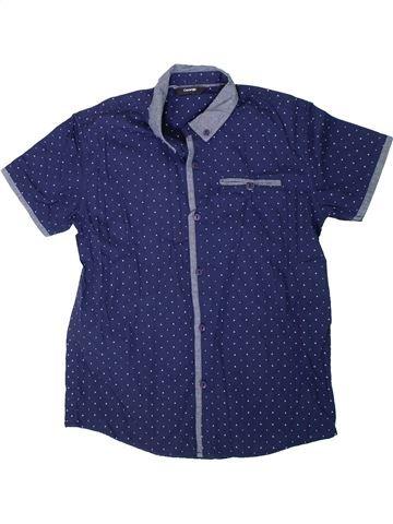 Camisa de manga corta niño GEORGE azul 14 años verano #1312126_1