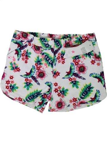 Short-Bermudas niña F&F blanco 7 años verano #1312149_1