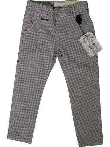 Pantalón niño ZARA gris 4 años verano #1312164_1