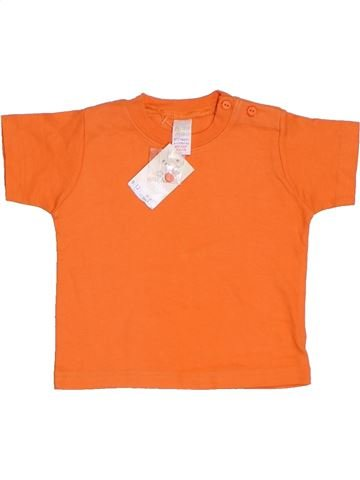 T-shirt manches courtes garçon BABY MAC orange 12 ans été #1314393_1