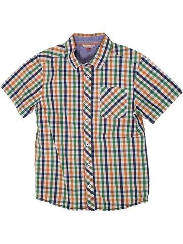 Chemise manches courtes garçon JOHN LEWIS gris 10 ans été #1314846_1
