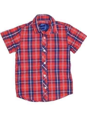 Camisa de manga corta niño BLUEZOO rosa 6 años verano #1314883_1