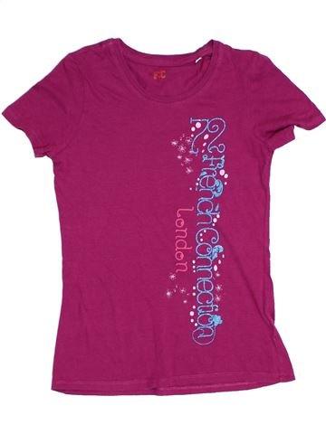 T-shirt manches courtes fille FRENCH CONNECTION violet 11 ans été #1315927_1