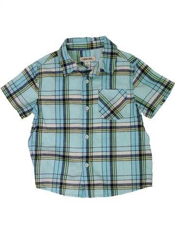 Chemise manches courtes garçon CHEROKEE bleu 3 ans été #1316064_1
