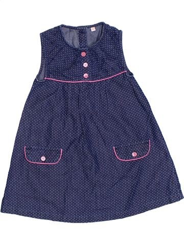 Robe fille DEBENHAMS bleu 2 ans été #1317203_1