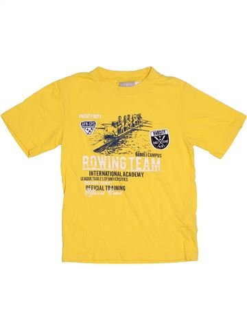 T-shirt manches courtes garçon BOBOLI jaune 8 ans été #1317281_1