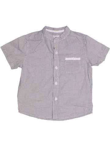 Chemise manches courtes garçon JOHN ROCHA gris 3 ans été #1318312_1