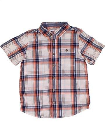 Chemise manches courtes garçon BOYS violet 7 ans été #1319944_1