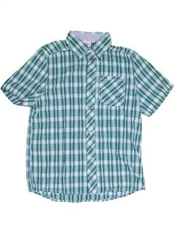 Chemise manches courtes garçon TOM TAILOR bleu 12 ans été #1320616_1