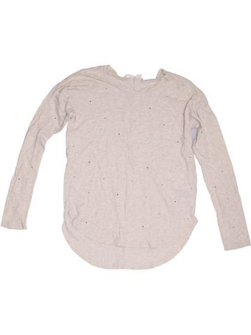 T-shirt manches longues fille GAP blanc 12 ans hiver #1321049_1