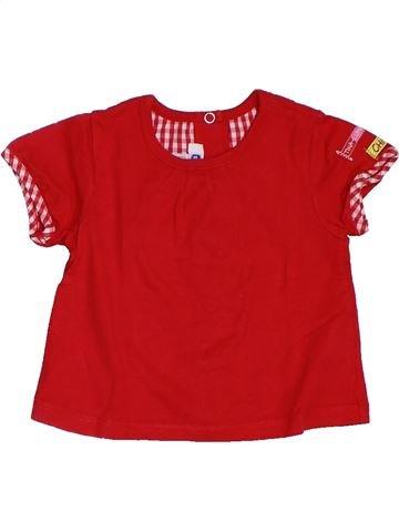 Camiseta de manga corta niña CHICCO rojo 6 meses verano #1321341_1