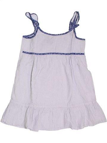 Blusa de manga corta niña CYRILLUS blanco 14 años verano #1321539_1