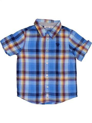 Chemise manches courtes garçon MEXX bleu 3 ans été #1321630_1
