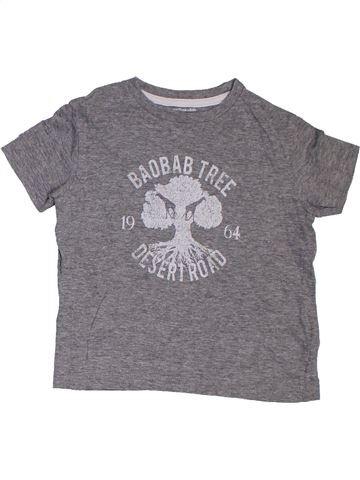 T-shirt manches courtes garçon VERTBAUDET gris 3 ans été #1322388_1