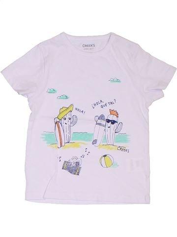 Camiseta de manga corta niño CREEKS blanco 2 años verano #1322704_1
