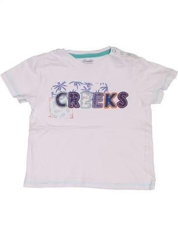 Camiseta de manga corta niño CREEKS blanco 2 años verano #1322714_1