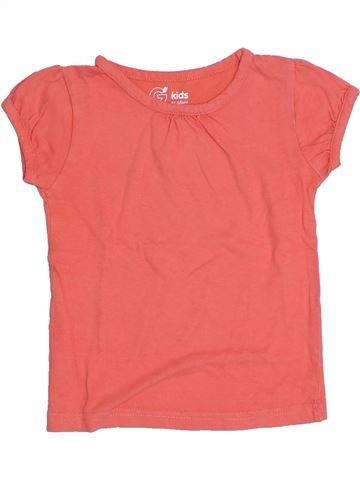Camiseta de manga corta niña GEMO rosa 4 años verano #1323060_1