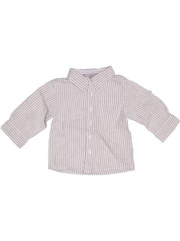 Camisa de manga larga niño 3 SUISSES blanco 12 meses invierno #1323117_1