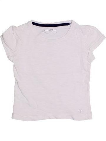 T-shirt manches courtes fille ORCHESTRA blanc 4 ans été #1323130_1