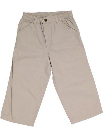 Pantalon garçon DPAM gris 2 ans été #1323370_1
