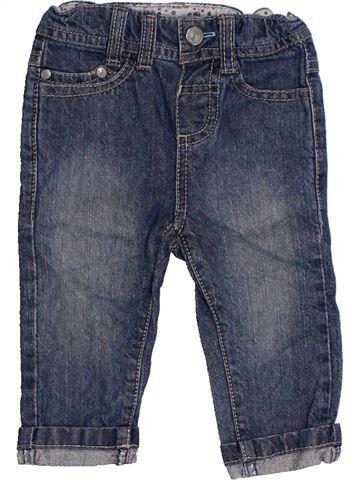 Pantalon fille TAPE À L'OEIL bleu 6 mois été #1324156_1