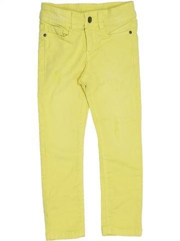 Pantalon fille TAPE À L'OEIL jaune 3 ans été #1324244_1