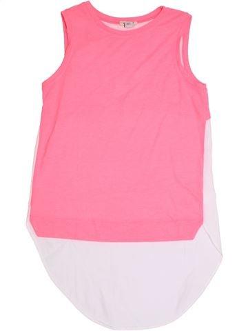 Camiseta sin mangas niña RIVER ISLAND rosa 12 años verano #1324902_1