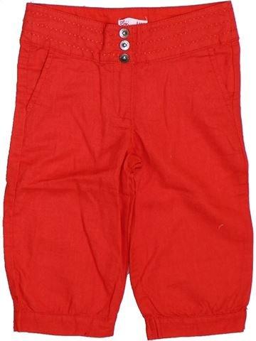 Pantalon fille DPAM rouge 3 ans été #1325951_1