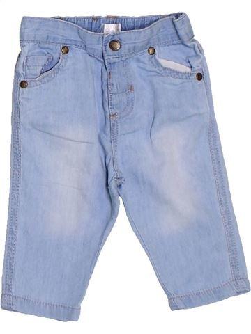 Pantalón niña BRIOCHE azul 3 meses verano #1326007_1