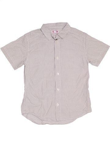 Chemise manches courtes garçon DPAM blanc 6 ans été #1326255_1