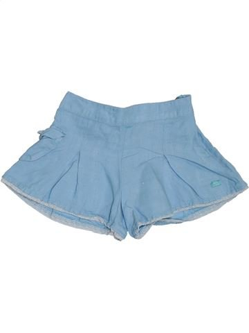 Short - Bermuda fille LILI GAUFRETTE bleu 3 ans été #1326991_1