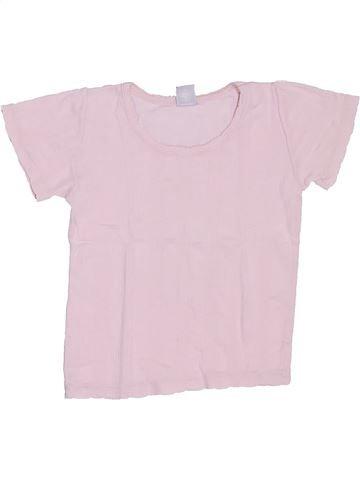 Camiseta de manga corta niña PETIT BATEAU rosa 4 años verano #1326999_1