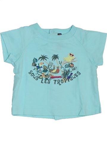 T-shirt manches courtes garçon SERGENT MAJOR bleu 3 mois été #1327035_1
