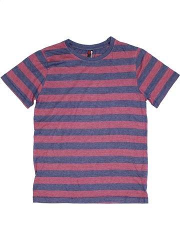 T-shirt manches courtes garçon BHS violet 12 ans été #1328232_1