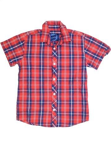 Chemise manches courtes garçon BLUEZOO rose 10 ans été #1328423_1