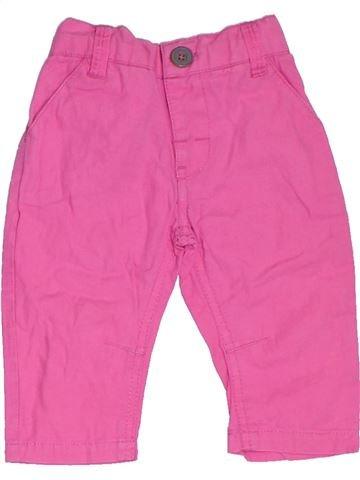 Pantalon fille BABY rose 6 mois été #1328538_1