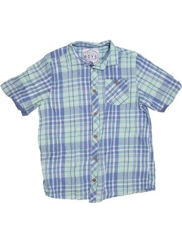 Chemise manches courtes garçon AWESOME APPAREL bleu 10 ans été #1328827_1