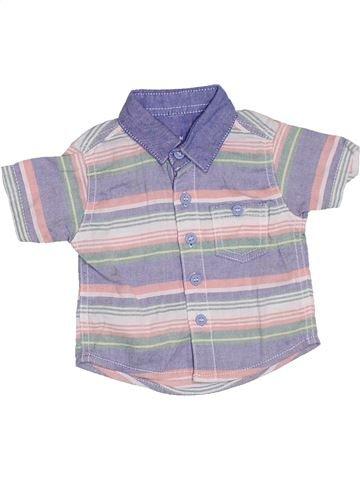 Chemise manches courtes garçon NUTMEG gris naissance été #1328836_1