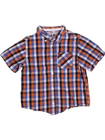Camisa de manga corta niño BOYS violeta 5 años verano #1328851_1