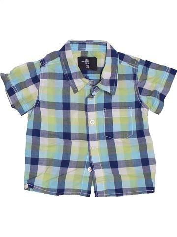 Chemise manches courtes garçon H&M gris 6 mois été #1329892_1