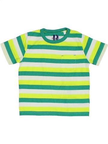 T-shirt manches courtes garçon BHS vert 3 ans été #1329964_1